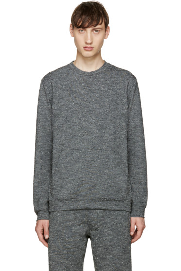 A.P.C. x Outdoor Voices - Grey Speckled Pullover