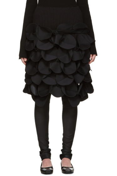 Junya Watanabe - Black Scuptural Skirt
