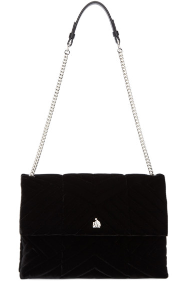 Lanvin - Black Velvet Medium Sugar Bag