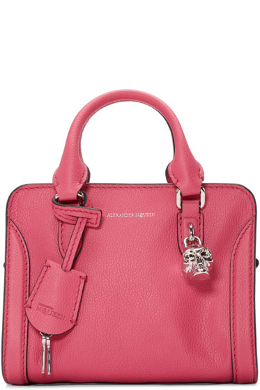 Alexander McQueen - Pink Mini Padlock Tote