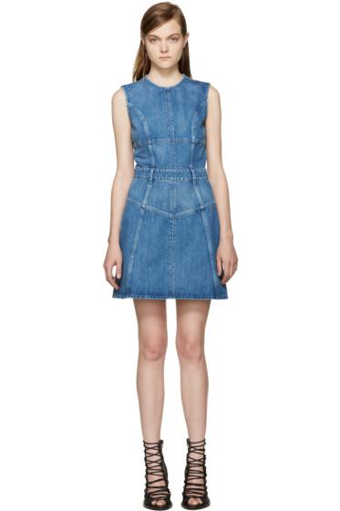 Alexander McQueen - Blue Denim Dress