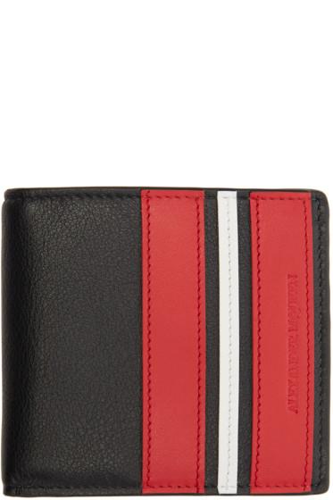 Alexander McQueen - Black Bifold Wallet
