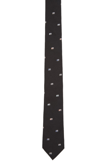 Paul Smith - Black Camera Tie