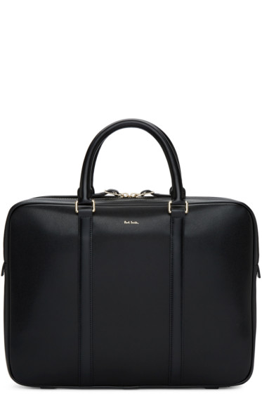 Paul Smith - Black Leather Briefcase