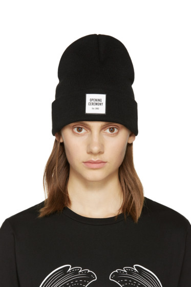 Opening Ceremony - Black New Era Edition Beanie