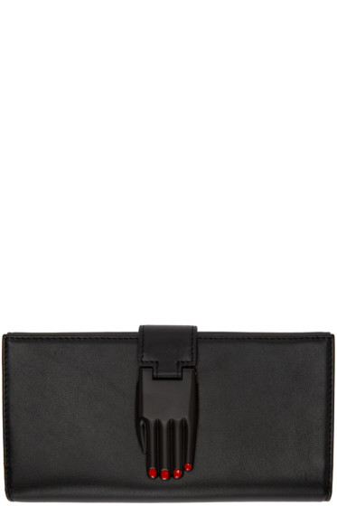 Opening Ceremony - Black Leather Misha Wallet