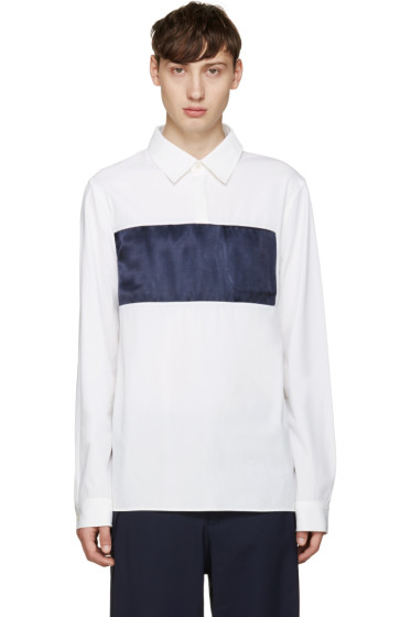Opening Ceremony - White Lincoln Shirt