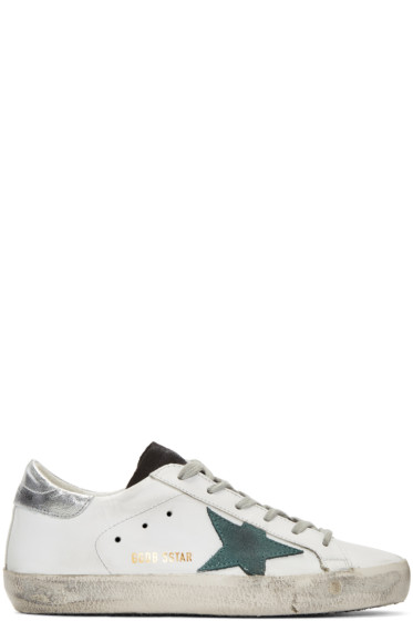Golden Goose - White Superstar Sneakers