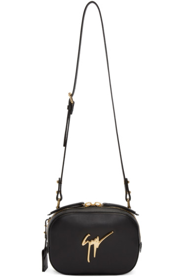 Giuseppe Zanotti - Black Leather Shoulder Bag