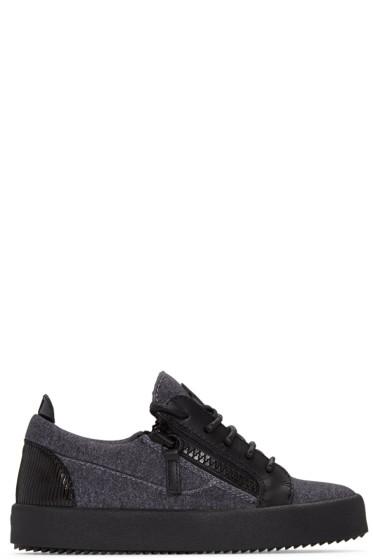 Giuseppe Zanotti - Grey London Sneakers