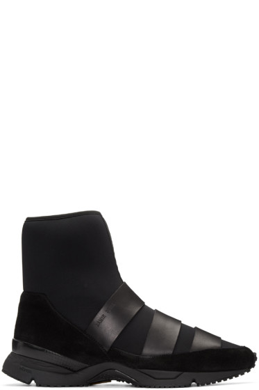 Damir Doma - Black Flash High-Top Sneakers