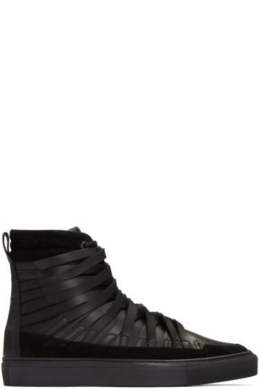 Damir Doma - Black Falco High-Top Sneakers