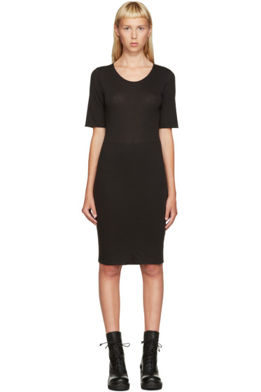 Raquel Allegra - Black Jersey Dress