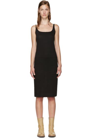 Raquel Allegra - Black Layering Dress