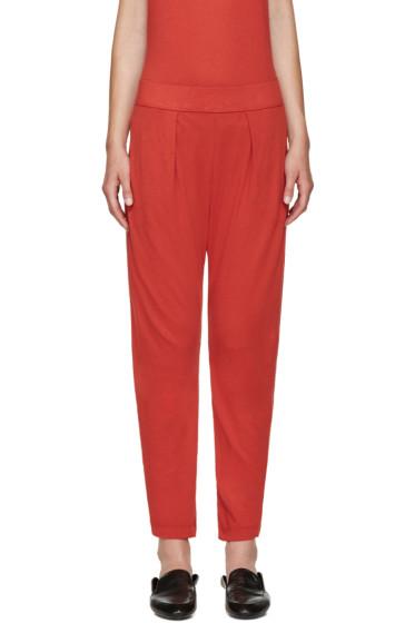 Raquel Allegra - Red Easy Lounge Pants