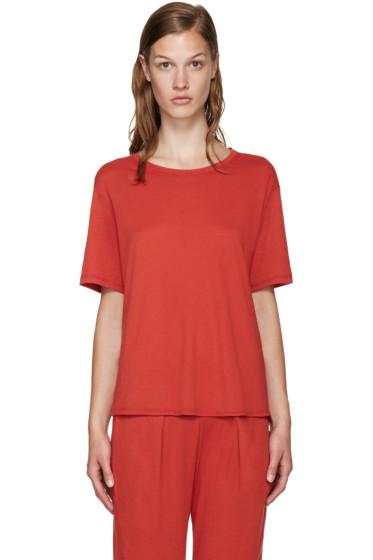 Raquel Allegra - Red Jersey T-Shirt
