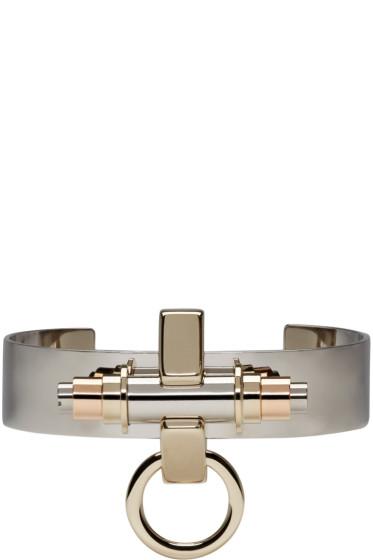 Givenchy - Silver Obsedia Cuff Bracelet