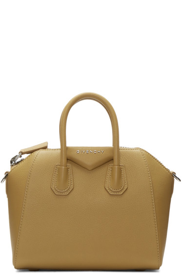 Givenchy - Tan Mini Antigona Bag