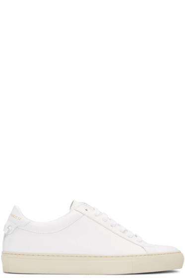 Givenchy - White Urban Knots Sneakers