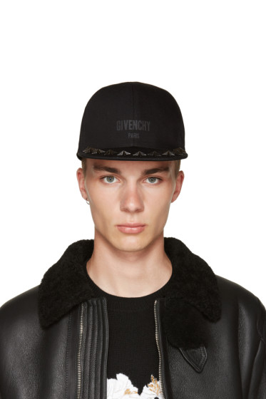 Givenchy - Black Stars Cap