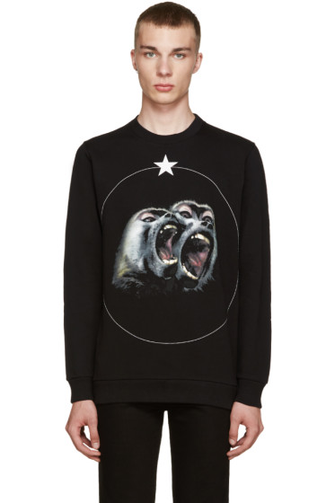 Givenchy - Black Monkey Brothers Sweatshirt