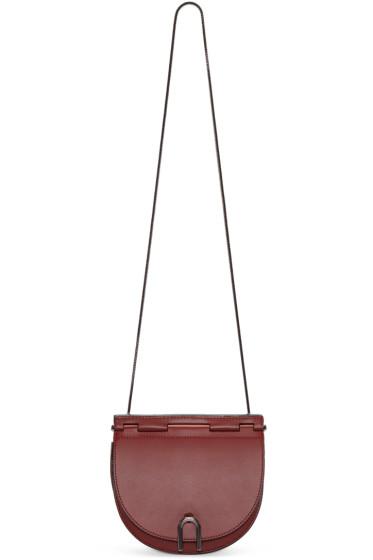 3.1 Phillip Lim - Red Hana Saddle Bag