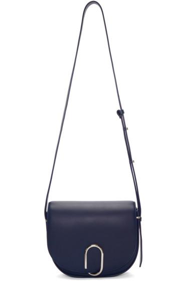 3.1 Phillip Lim - Navy Alix Saddle Bag