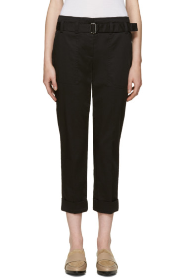 3.1 Phillip Lim - Black Cropped Utility Trousers