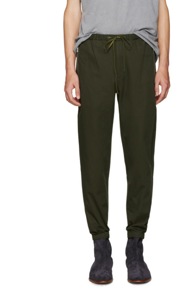 3.1 Phillip Lim - Green Utility Trousers