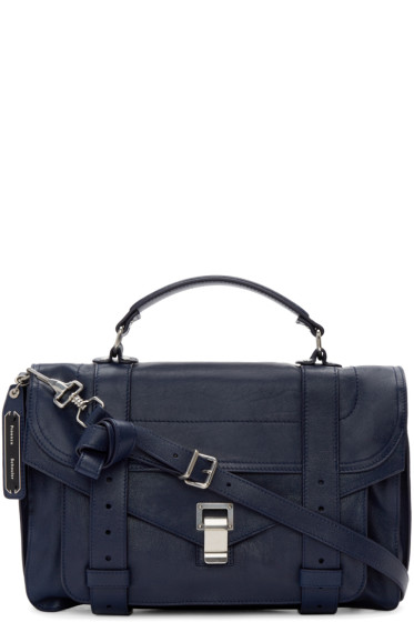 Proenza Schouler - Indigo Medium PS1 Satchel