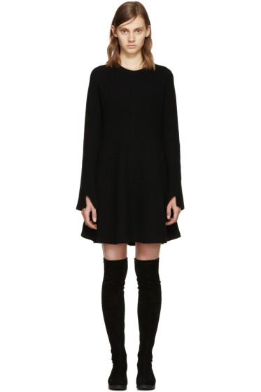 Proenza Schouler - Black Wool Knit Dress
