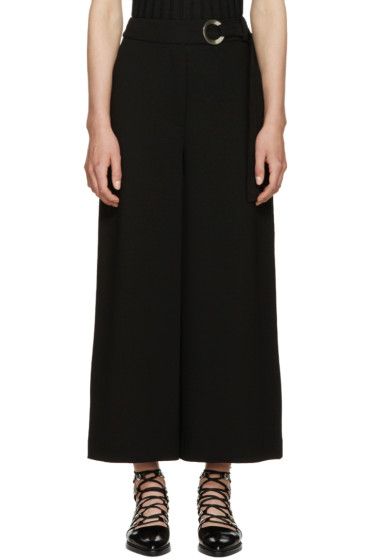 Proenza Schouler - Black Belted Trousers