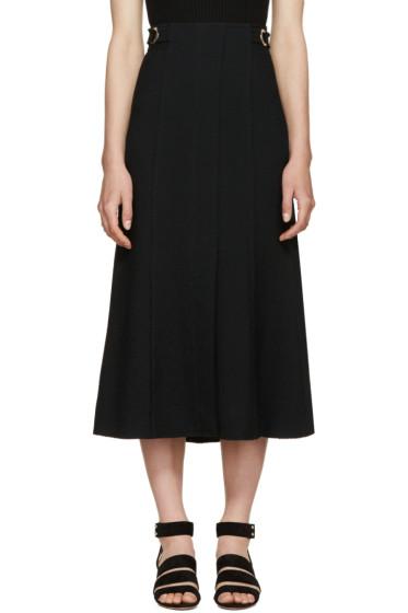 Proenza Schouler - Black Crepe Skirt