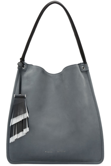 Proenza Schouler - Grey Nubuck Medium Tote
