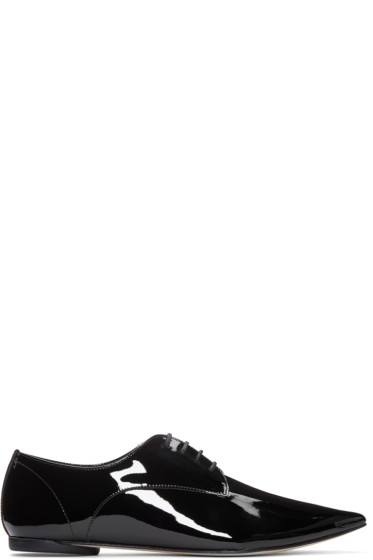 Repetto - Black Patent Leather Dexter Derbys