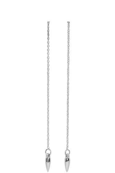 Pamela Love - Silver Suspension Earrings