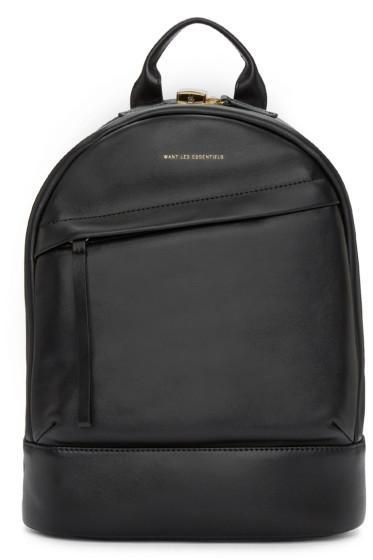 Want Les Essentiels - Black Mini Piper Backpack