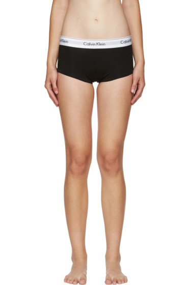 Calvin Klein Underwear - Black Modern Boy Shorts
