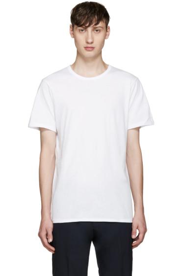Calvin Klein Underwear - Three-Pack White Slim-Fit Undershirt