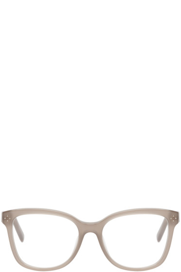 Chloé - Taupe Square Optical Glasses