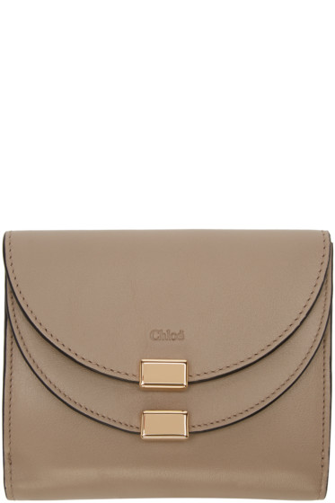 Chloé - Grey Georgia Square Wallet