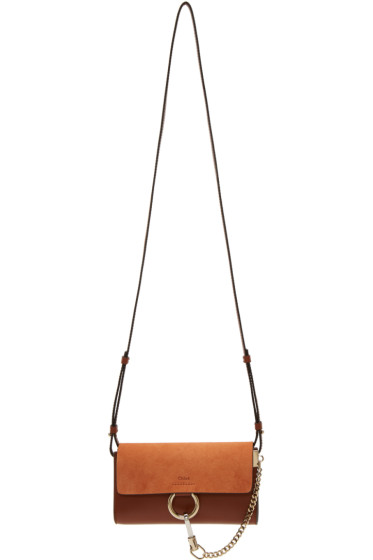 Chloé - Brown Faye Chain Wallet Bag