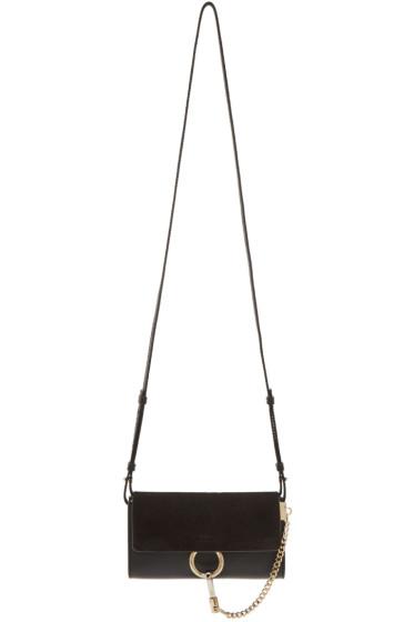 Chloé - Black Faye Chain Wallet Bag