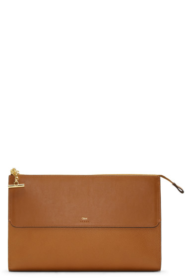 Chloé - Brown Flat Joe Pouch