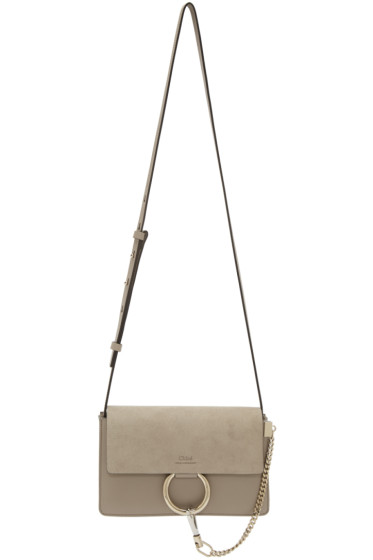 Chloé - Grey Small Faye Bag