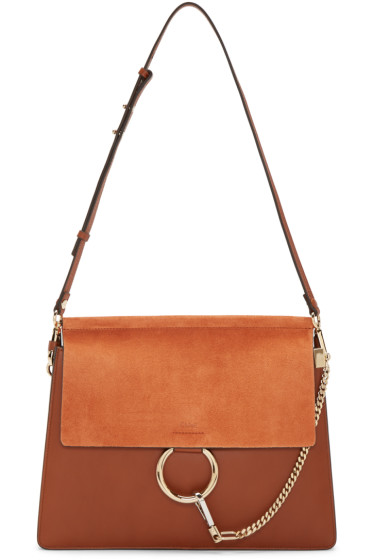 Chloé - Brown Medium Faye Bag