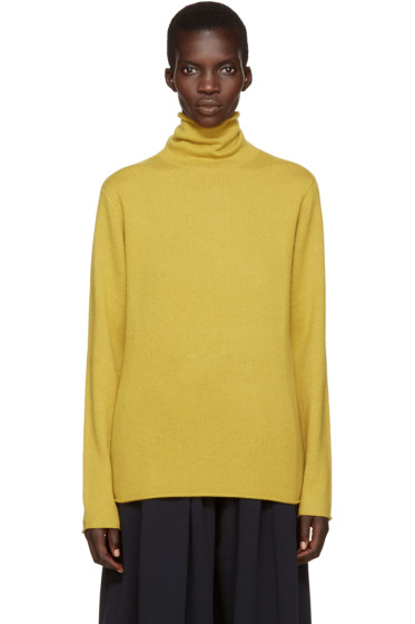 Chloé - Yellow Cashmere Turtleneck