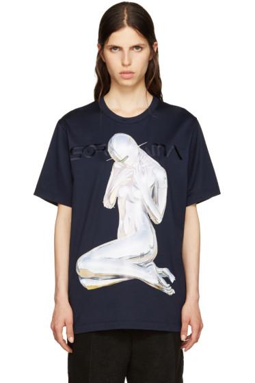 Juun.J - Navy Sorayama T-Shirt