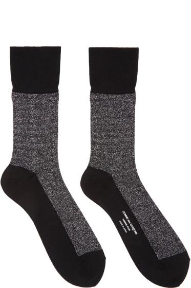 Comme des Garçons Homme Plus - Silver Metallic Socks