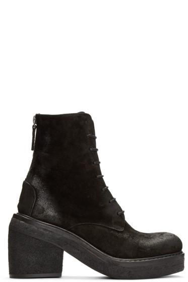 Marsèll - Black Nubuck Parrotta Boots